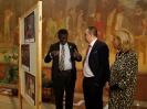 Exibition of African art at the Hungarian Parliament Hall-Orszaggyules